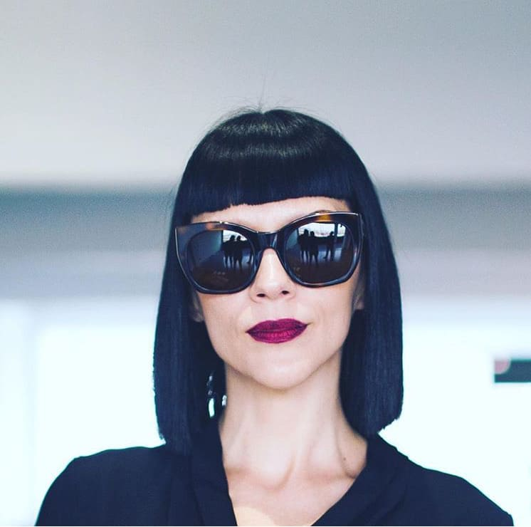 Rita Rouge by Raval eyewear Óptica Gran Vía Barcelona
