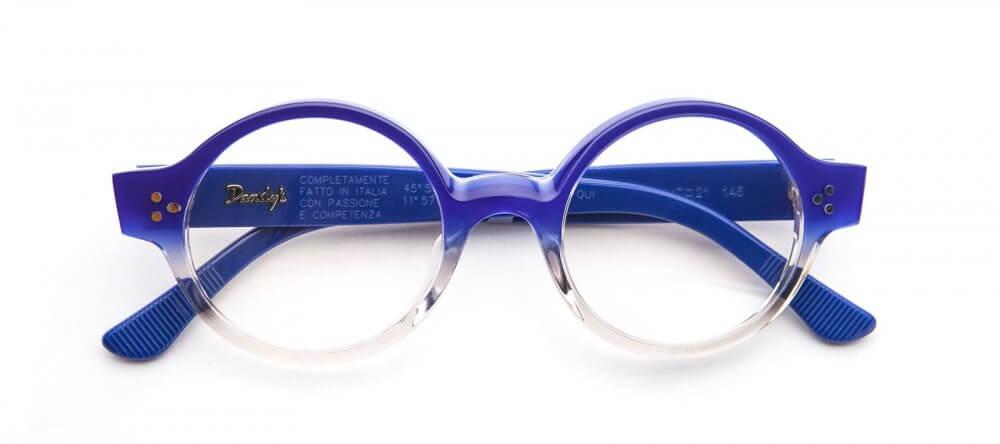 gafa modelo LIBRARIAN color azul óptica gran via Barcelona