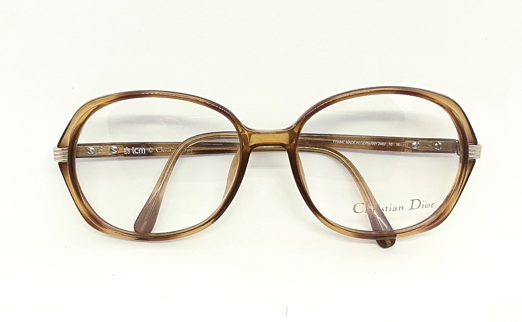 Gafas Vintage Originales Christian Dior-Optica Gran Vía Barcelona