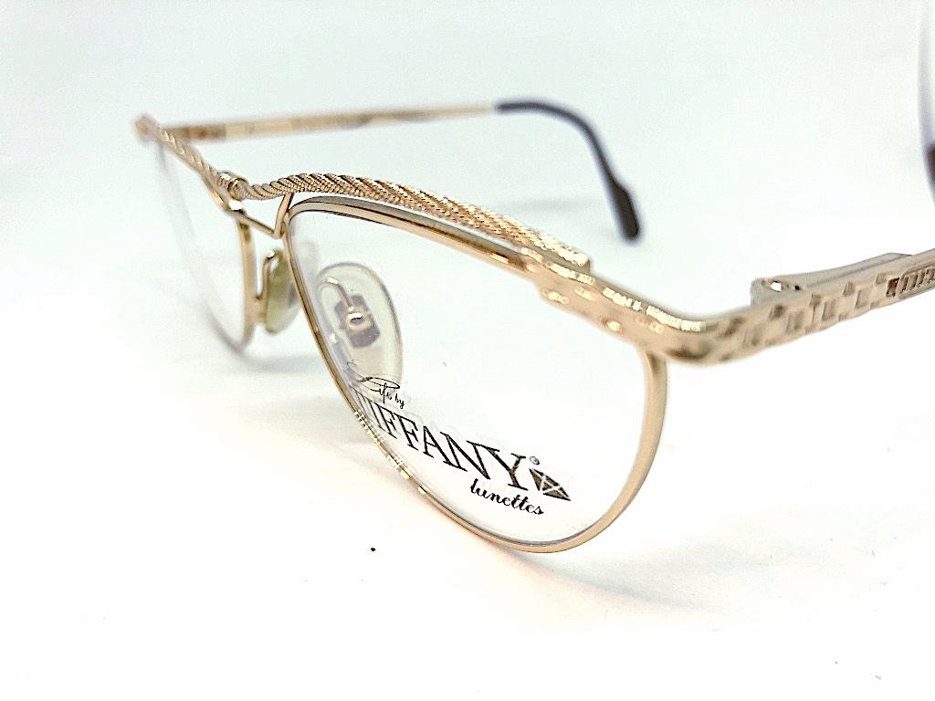Gafas Vintage Originales Tiffany -Optica Gran Vía Barcelona