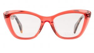 Glasses Eye Cat Style LA ROUGE by Raval Eyewear-Óptica Gran Vía Barcelona